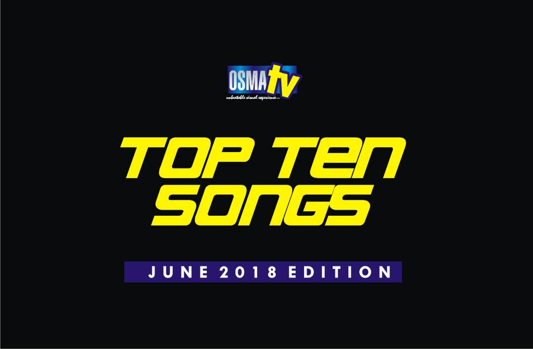 TOP 10 SONGS IN ONDO STATE (JUNE 2018 EDITION)