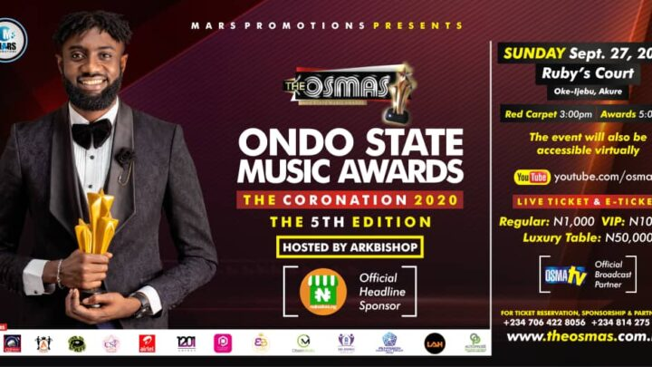 "Ondo State Music Awards 2020 ""The Coronation"" Full Winners list  &  All that happened during the Event"